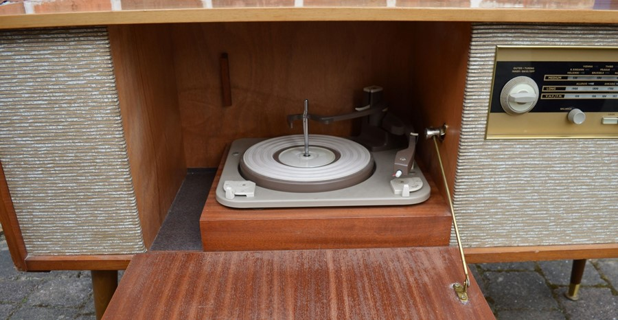 1960's Alba music cabinet *Please note this item is sold as a Collectors Item and has not been - Image 2 of 3