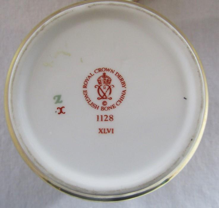 Royal Crown Derby imari pattern 1128 ginger jar (second quality) H 11 cm - Image 5 of 5