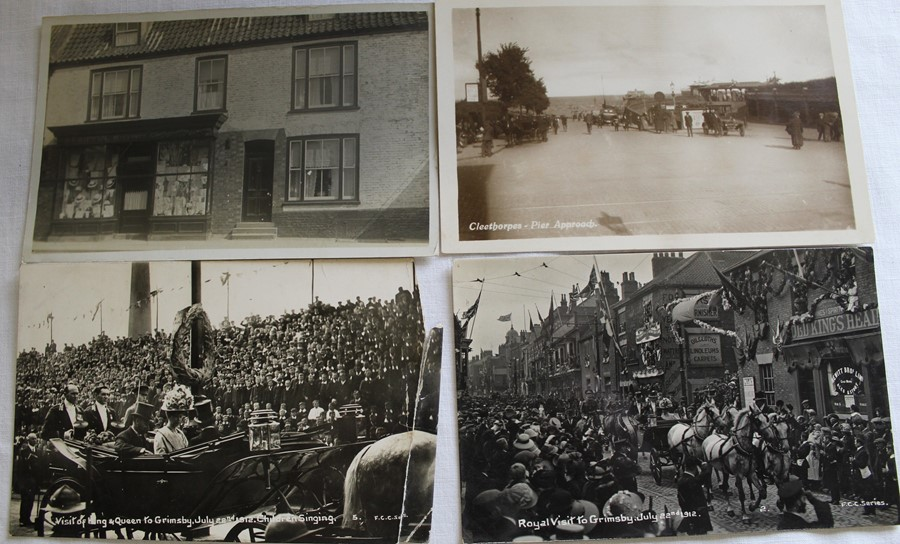 Selection of mainly topographical postcards including early Boston, Glentham, Cleethorpes & Royal - Image 2 of 3