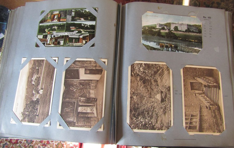 Reliable Series Album of postcards, mainly early Boston & Lincoln - over 200 cards - Image 5 of 14