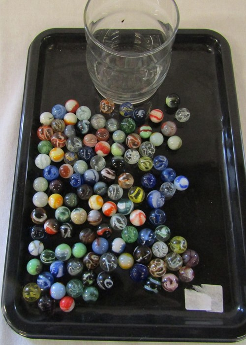 Selection of assorted marbles inc some early examples - Image 5 of 6