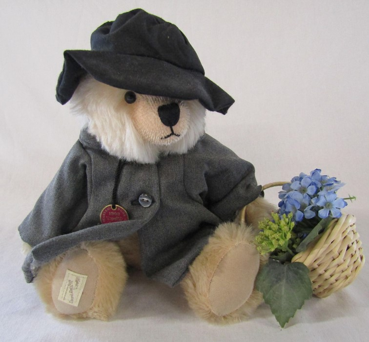 Deans Rag book centenary year limited edition teddy bear 'Beatrix' 29/150 L 30 cm