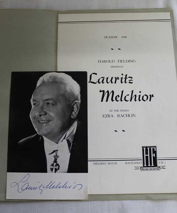 """Punch magazine folder with embossed white metal front cover, """"Lancaster Records or Leaves From Local - Image 2 of 3"""