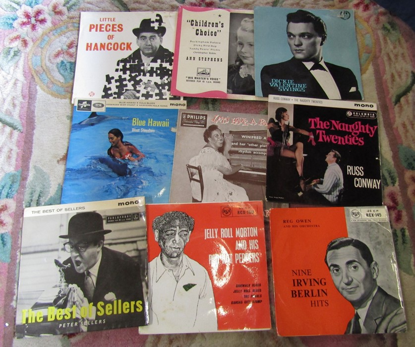 """Box of 7"""" singles inc The Rolling Stones, Nat King Cole, Platters, Frank Sinatra, Cilla Black, The - Image 5 of 5"""