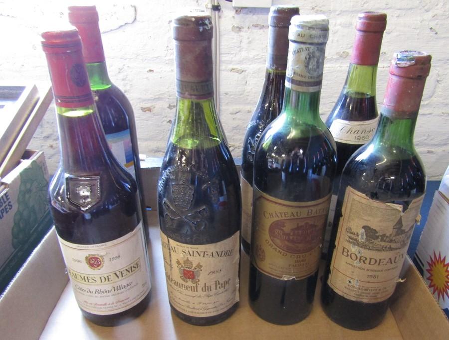 21 bottles of wine inc Chanson 1980 Cote de Beaune Villages, Bourgogne 1999, Bordeaux 1981, Peter - Image 5 of 6