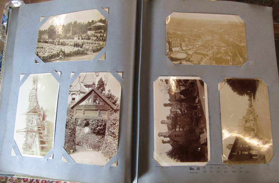 Reliable Series Album of postcards, mainly early Boston & Lincoln - over 200 cards - Image 9 of 14