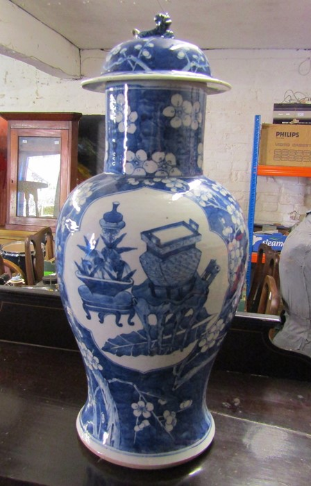 Various ceramics inc Minton, Susie Cooper, Limoges, Wedgwood and Poole, Oriental style lamp and - Image 2 of 8