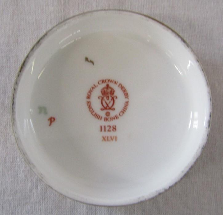 Royal Crown Derby imari pattern 1128 ginger jar (second quality) H 11 cm - Image 3 of 5