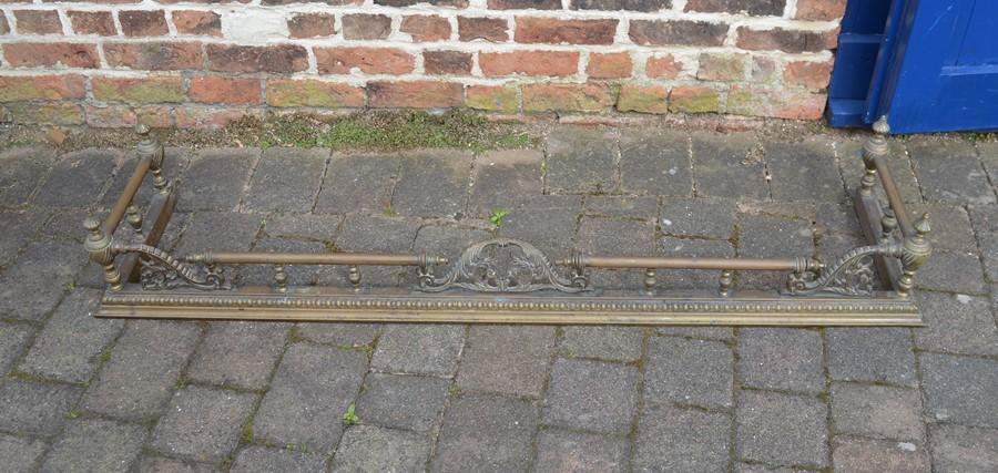 Brass fender L 155 cm
