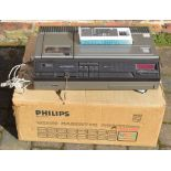 Early Philips N1700 Video Cassette Recorder