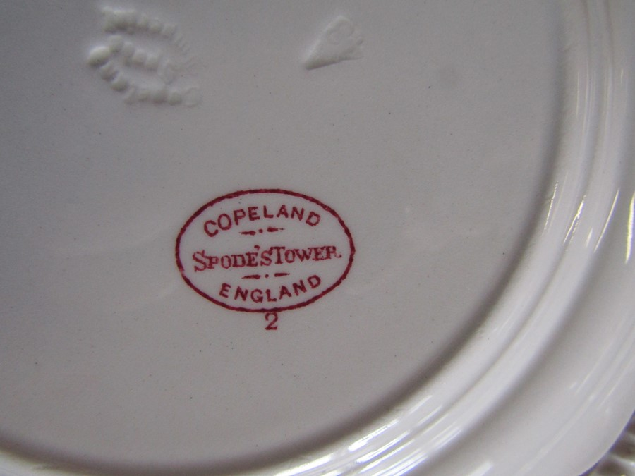 Selection of mainly blue and white ceramics inc Spode - Image 2 of 3