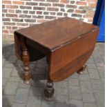 Oak gate leg table