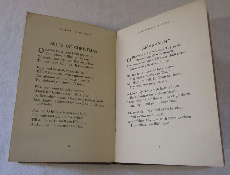 Reflections in Verse by Ivy Scott (188601947) signed by the author, published by Arthur H - Image 2 of 5