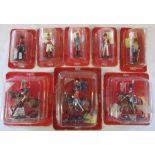 Selection of boxed Del Prado military figures
