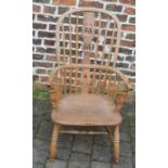 19th century Windsor chair with splat back