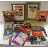 Collection of mainly 1950s West End theatre programmes inc Oliver, Fiddler on the Roof, Carousel,