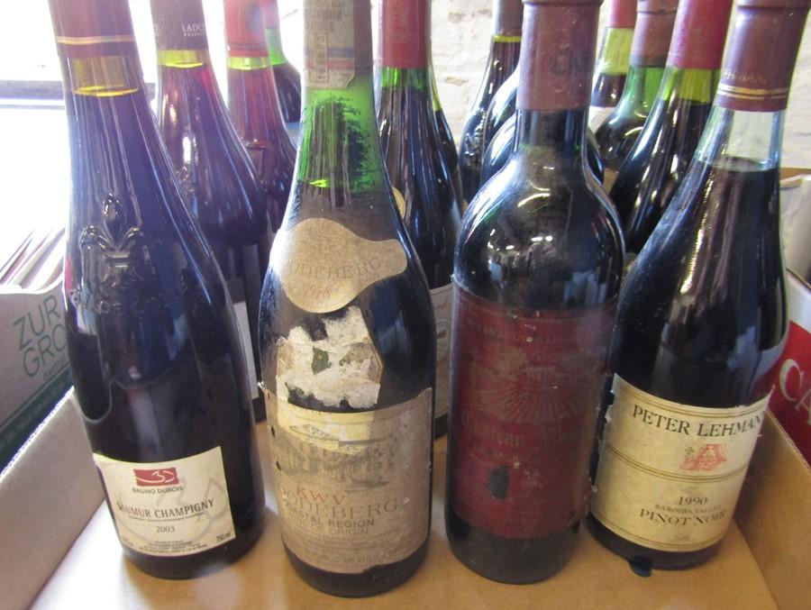 21 bottles of wine inc Chanson 1980 Cote de Beaune Villages, Bourgogne 1999, Bordeaux 1981, Peter - Image 3 of 6