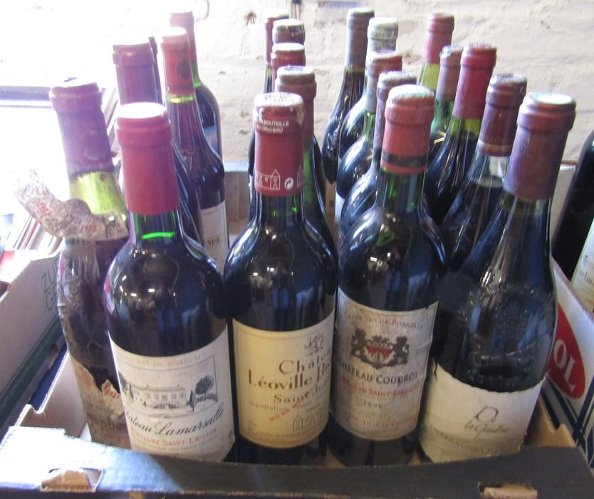 21 bottles of wine inc Chanson 1980 Cote de Beaune Villages, Bourgogne 1999, Bordeaux 1981, Peter - Image 2 of 6