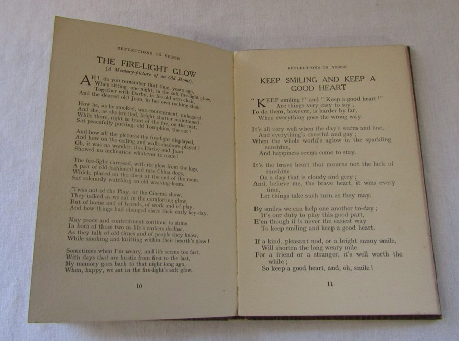 Reflections in Verse by Ivy Scott (188601947) signed by the author, published by Arthur H - Image 3 of 5