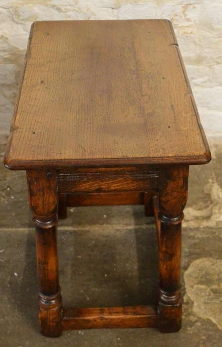 Titchmarsh & Goodwin coffin stool (2020 Retail Price List £820) Ht 46cm W 46cm D 28cm - Image 2 of 2