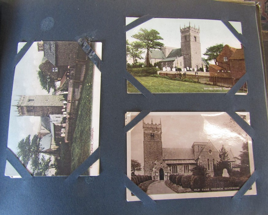 Classic Series Album of postcards mainly Gainsborough, Cleethorpes & Grimsby including Royal Visit - Image 8 of 12