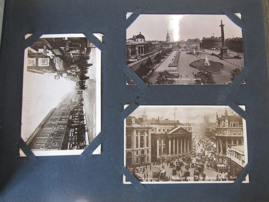 Classic Series Album of postcards mainly Gainsborough, Cleethorpes & Grimsby including Royal Visit - Image 12 of 12