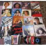 Various LPs and singles mainly from the 1970/80's inc Adam and the Ants, Supertramp, The Beatles,