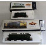 Bachmann Branch-Line boxed OO gauge 32-100 08 diesel shunter 13365 BR Green & 32-027 Class 20 Diesel