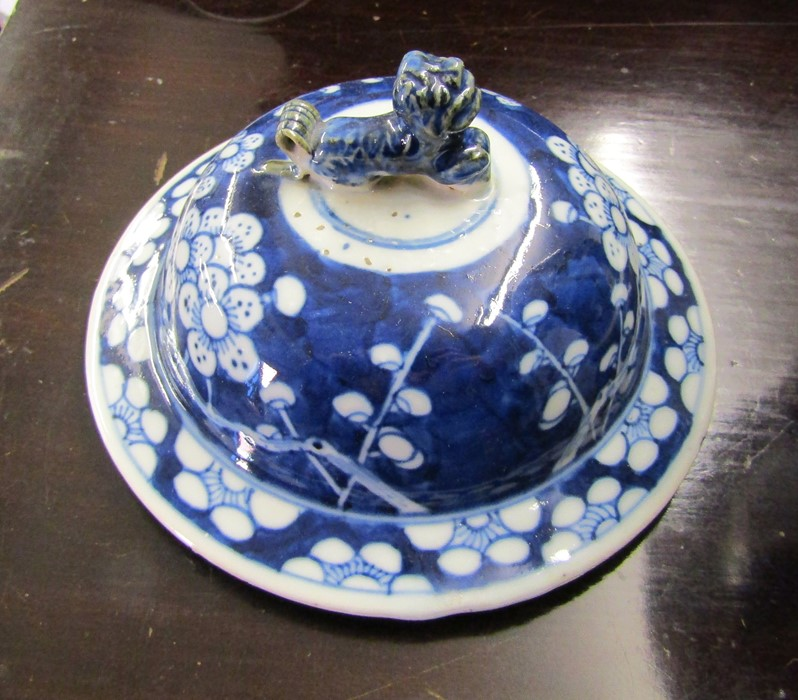 Various ceramics inc Minton, Susie Cooper, Limoges, Wedgwood and Poole, Oriental style lamp and - Image 3 of 8