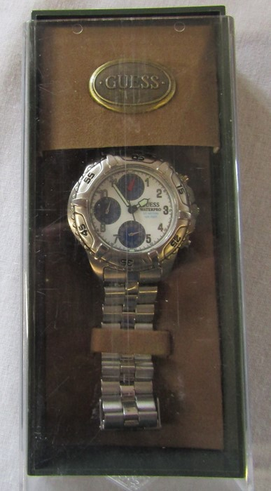 4 boxed Gents wrist watches - Jeep, Swiss active, Rotary and Guess chronograph - Image 2 of 5