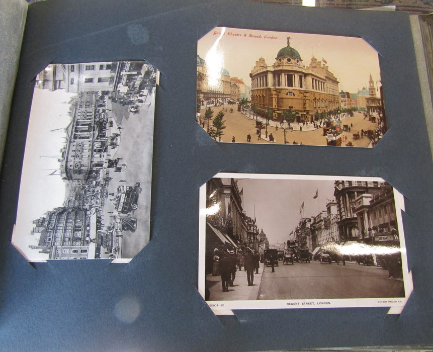 Classic Series Album of postcards mainly Gainsborough, Cleethorpes & Grimsby including Royal Visit - Image 11 of 12