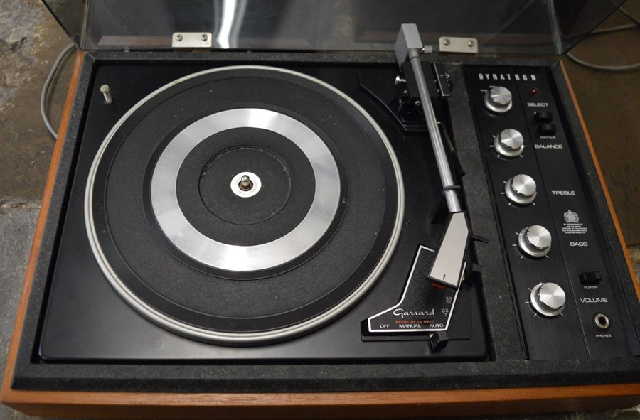 Dynatron Garrard record player with 2 speakers - Image 2 of 2