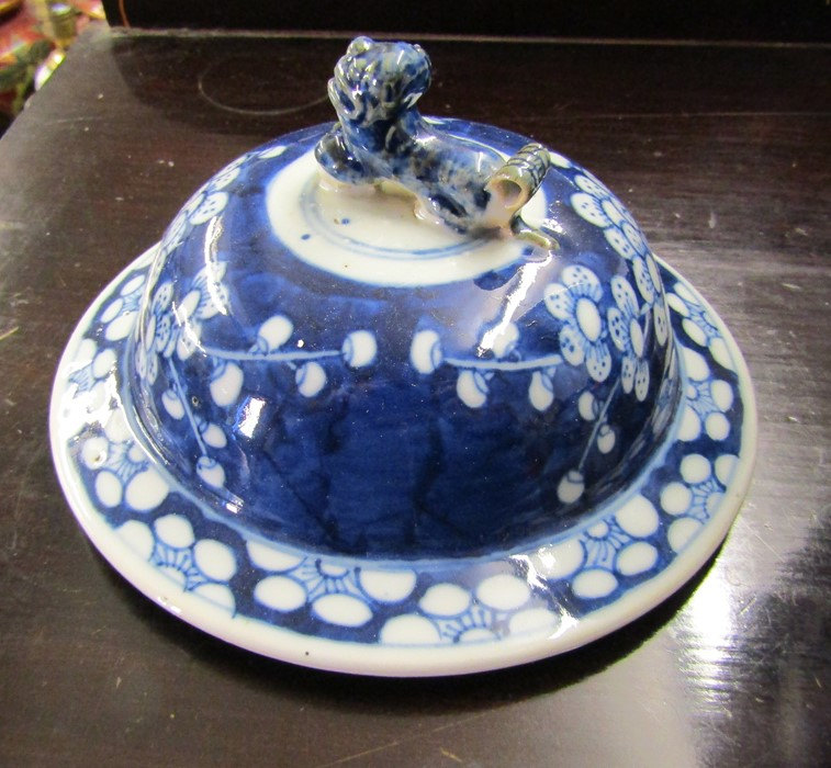 Various ceramics inc Minton, Susie Cooper, Limoges, Wedgwood and Poole, Oriental style lamp and - Image 4 of 8