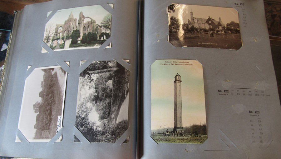 Reliable Series Album of postcards, mainly early Boston & Lincoln - over 200 cards - Image 6 of 14