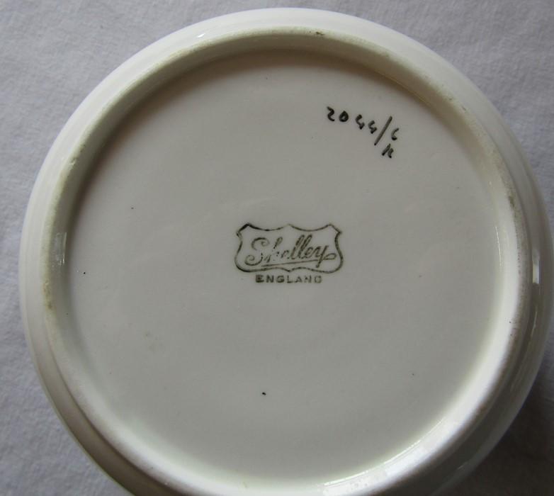 Various Shelley part tea sets inc poppy design c.1930s - Image 3 of 4