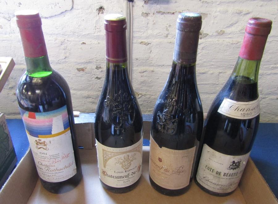 21 bottles of wine inc Chanson 1980 Cote de Beaune Villages, Bourgogne 1999, Bordeaux 1981, Peter - Image 6 of 6