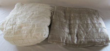 2 John Lewis polyester bedspreads