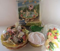 Large quantity of Flower Fairies and accessories