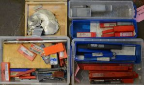 Boring bar, lathe tools & inserts, drills & reamers, dovetail & woodruff cutters, indexable