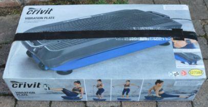 Crivit vibrating exercise plate