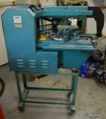 Clarke power hack saw (hydraulic damper needs repair or replacing).This Lot is at a location in