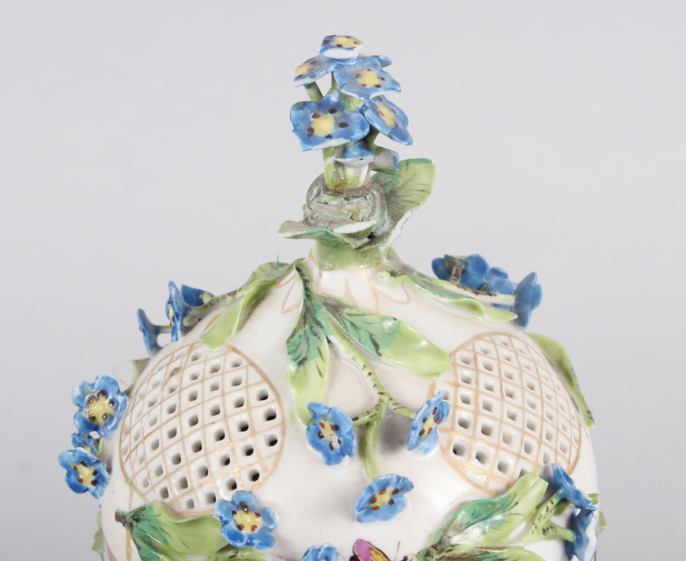 A pair of pot pourri jars with hinged covers and insect and relief floral decoration - Image 18 of 31