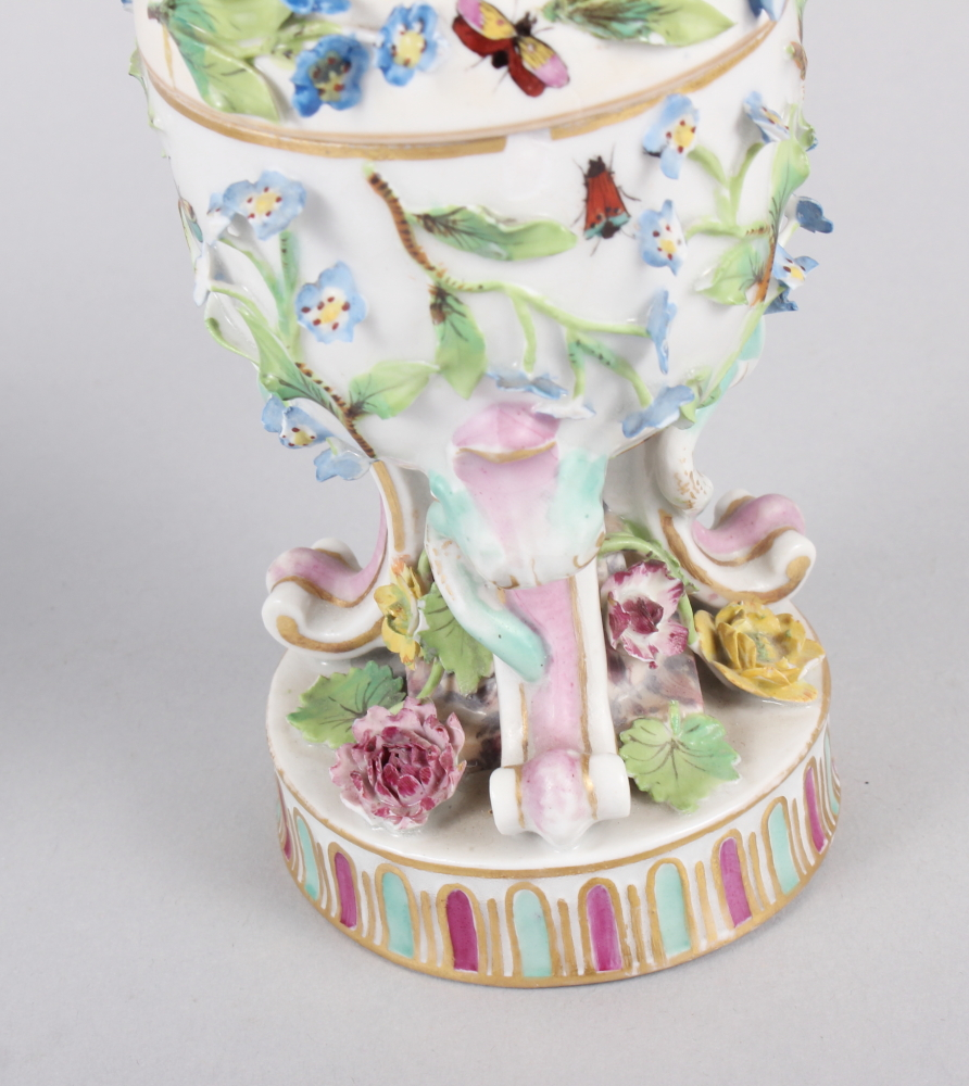 A pair of pot pourri jars with hinged covers and insect and relief floral decoration - Image 19 of 31