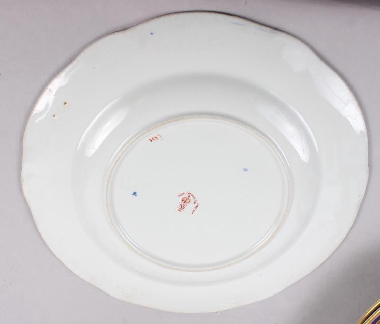 """A pair of Royal Crown Derby Imari pattern dinner plates, 10"""" dia, and five matching dessert plates - Image 5 of 5"""