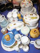 """A quantity of Royal Worcester """"Evesham"""" pattern china, including tureens, plates and egg coddlers, a"""