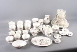 """A Wedgwood """"Hathaway Rose"""" pattern part combination service"""