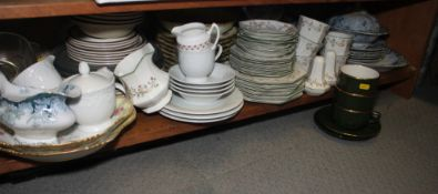 """An Alfred Meakin """"Ormonde"""" pattern part dinner service, an English part combination service with"""