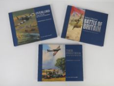 The Military Gallery; two books of artwork being 'Their Finest Hour The Battle of Britain 1940',