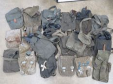 A quantity of twenty AK grade 3 magazine pouches.