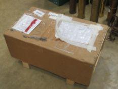 An RAF damper Inertia for a Merlin Mk3 with paperwork in crate.
